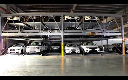 WRAP Vertical Puzzle Parking System